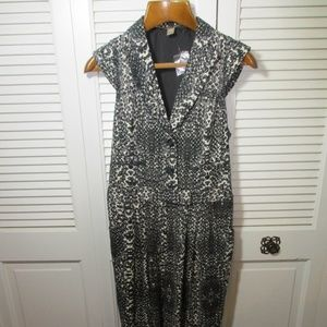 Anthropologie Pants - NWT Anthro. Charlie Jade Animal Print Romper M